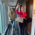 Jessica Thivenin et Magali Berdah. Photos d'archives postées sur Instagram.