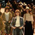 """Défilé """"CELINE"""" collection prêt-à-porter printemps-été 2020 lors de la Fashion Week de Paris. Le 27 septembre 2019."""