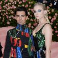 "Sophie Turner et son mari Joe Jonas - Arrivées des people à la 71ème édition du MET Gala (Met Ball, Costume Institute Benefit) sur le thème ""Camp: Notes on Fashion"" au Metropolitan Museum of Art à New York, le 6 mai 2019"
