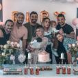 Petite fête organisée en 48h pour la venue au monde de Ruby, sur Instagram le 7 octobre 2019.