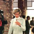 Diana au Pakistan en 1996.