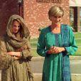 Diana au Pakistan en 1997.