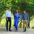 Le prince William, duc de Cambridge, et Catherine (Kate) Middleton, duchesse de Cambridge, visitent les collines de Margalla dans le cadre de leur visite officielle de cinq jours au Pakistan. Islamabad, le 15 octobre 2019.