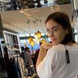 Agathe Auproux divinesur Instagram, le 1er octobre 2019