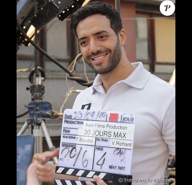 """Tarek Boudali a débuté le tournage de son deuxième film """"30 Jours Max"""" le 23 septembre 2019."""