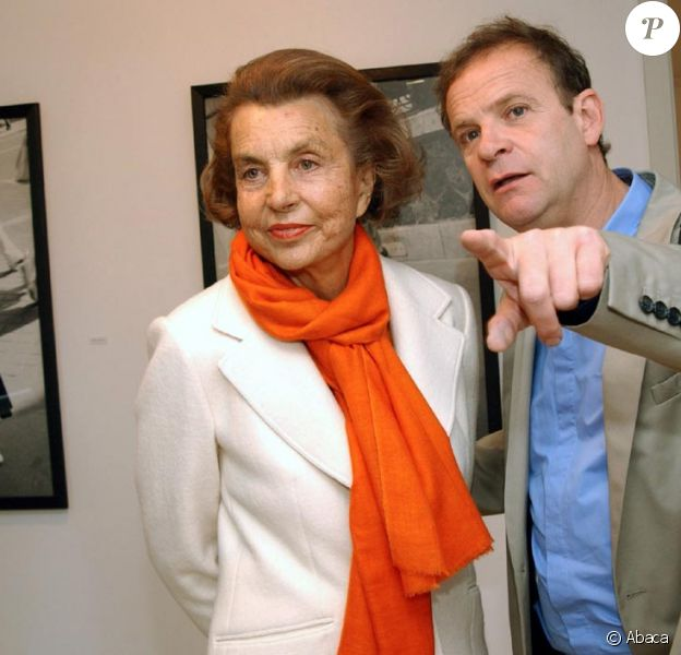 Liliane Bettencourt et François Marie Banier
