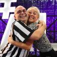 """Yoann Riou dans """"Danse avec les stars"""" saison 10, avec sa partenaire Emmanuelle Berne, octobre 2019."""