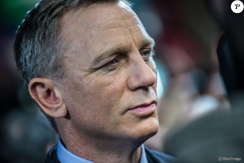 """Daniel Craig - Arrivée des people à l'avant-première du film """"007 Spectre"""" au Grand Rex à Paris, le 29 octobre 2015."""