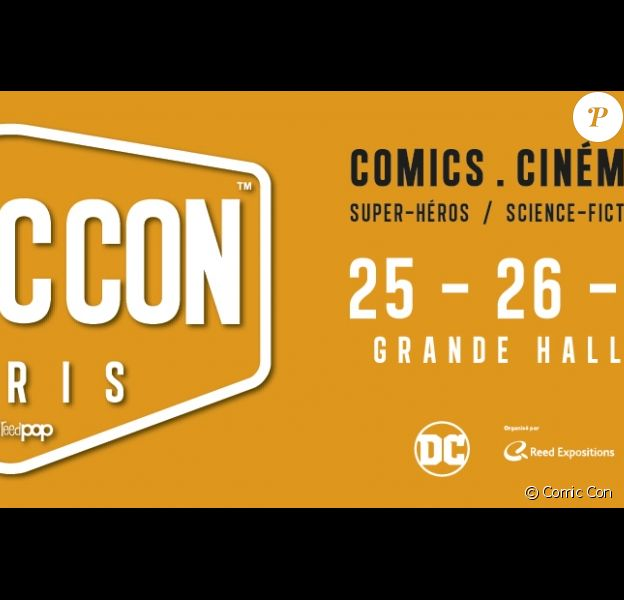 Illustration du Comic Con Paris, qui tiendra place du 25 au 27 octobre 2019 à Paris.
