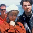 Archives - Le groupe Niagara à Montréal. Le 2 juillet 1987.