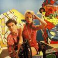 Archives - Daniel Chenevez et Muriel Moreno, du groupe Niagara. Non daté.