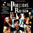 Fond noir et visuels en mosaïque, l'affiche de  Poupées Russes  (2005) de Klapisch a visiblement inspiré....