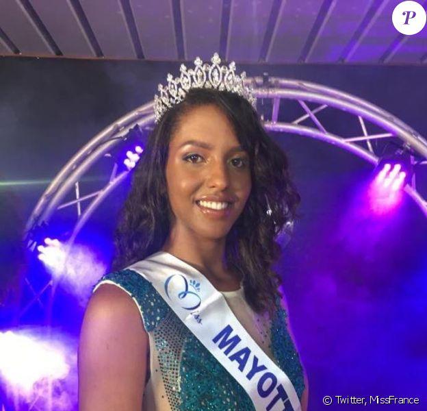 Éva Labourdère, Miss Mayotte 2019, se présentera à l'élection de Miss France 2020, le 14 décembre 2019.