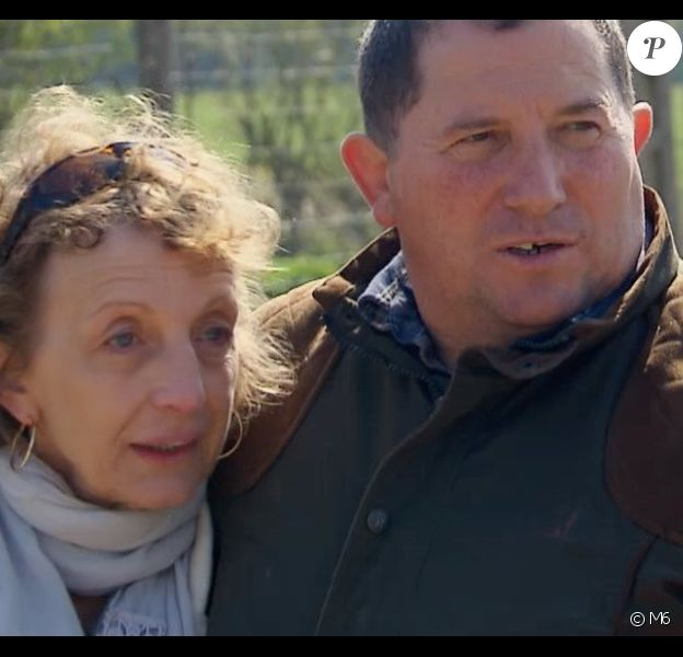 """Lucienne et Yves - """"L'amour est dans le pré 2019"""" sur M6, le 28 octobre 2019."""