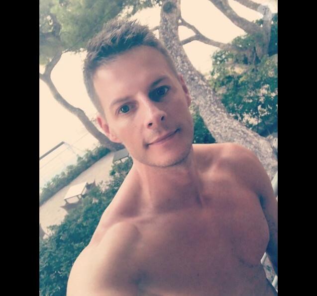 Matthieu Delormeau sur son compte Instagram, le 8 septembre 2018.