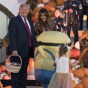 Donald et Melania Trump mettent le paquet pour Halloween après les huées