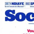 """Couverture de """"Society""""- n° du 31 octobre 2019."""