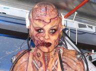 Heidi Klum : Atroce alien pour Halloween, avec son mari et des stars morbides