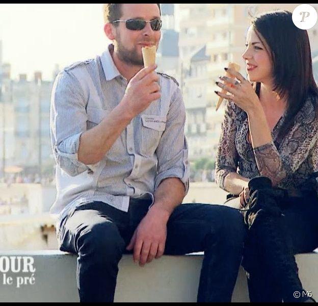 """François le Vendéen et Nicole - """"L'amour est dans le pré 2019"""" sur M6, le 28 octobre 2019."""