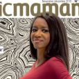 "Couverture de ""Magic Maman"" avec Hapsatou Sy"
