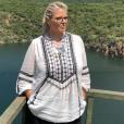 """Laurence Boccolini en Afrique du sud pour le tournage de """"Je suis une célébrité, sortez-moi de là"""" - Instagram, 20 mars 2019"""
