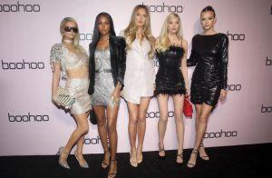 Paris Hilton : Scintillante pour les fêtes avec ses amies top models