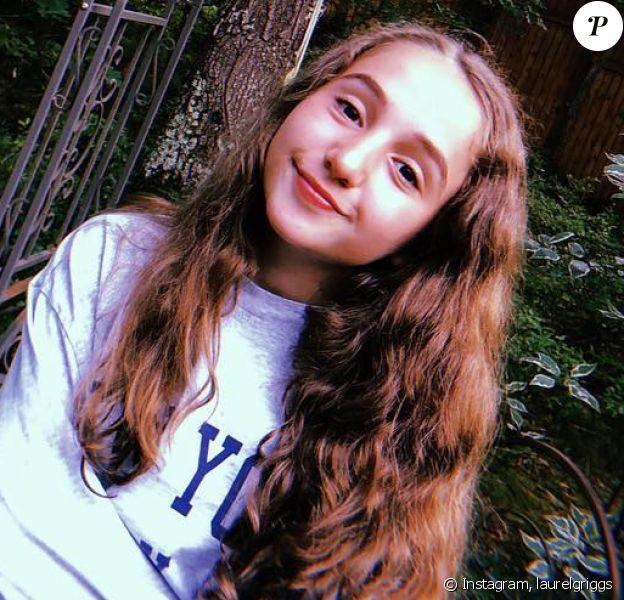 La jeune comédienne de 13 ans, Lauren Griggs, sur Instagram, le 5 juillet 2018.  Alors qu'elle débutait une carrière à Broadway, l'adolescente serait décédée des suites d'une violente crise d'asthme le 5 novembre 2019.