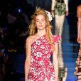"""Théma - Les """"filles de"""" défilent pour Jean-Paul Gaultier - Ilona Smet - Défilé de mode Jean-Paul Gaultier collection Haute Couture Printemps/Eté 2017 lors de la fashion week à Paris, France, le 25 janvier 2017."""