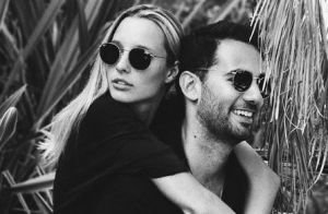 Ilona Smet : Tendre baiser de cinéma avec Kamran Ahmed à Londres