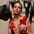 """Jade Leboeuf (fille de Frank Leboeuf) - People lors de la soirée """"Grand Opening"""" de la salle de sport L'Usine à Paris. Le 14 octobre 2019 © Veeren / Bestimage"""