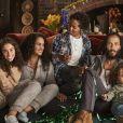 Ziggy Marley, fils de Bob Marley, son épouse Orly, ses filles Justice, Zuri et Judah, et ses fils Daniel, Gideon, Abraham et Isaiah figurent sur la campagne de fin d'année de UGG. Photo par Danielle Levitt.