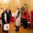 Le Prince Albert II et la Princesse Charlène de Monaco offrent des cadeaux aux personnes défavorisées au bureau de la Croix-Rouge monégasque dans le cadre des célébrations de la fête nationale monégasque, Monaco le 15 novembre 2019, © Olivier Huitel/Pool/Bestimage