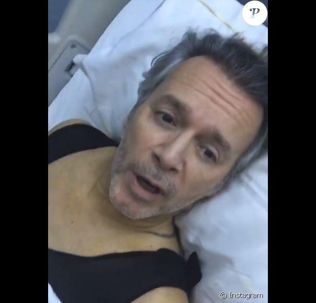 Jean-Michel Maire partage son opération de chirurgie esthétique sur Instagram le 15 novembre 2019.