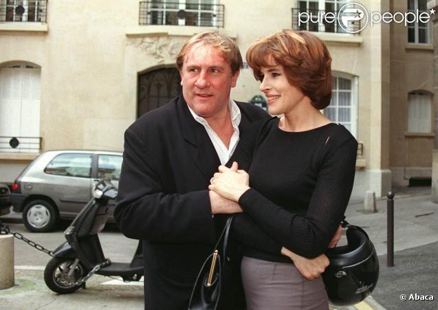 Fanny Ardant et Gérard Depardieu (ici photographiés à Paris en 2000) se sont donné la réplique dans un inédit d'Offenbach, à Montpellier, le 20 juillet 2009