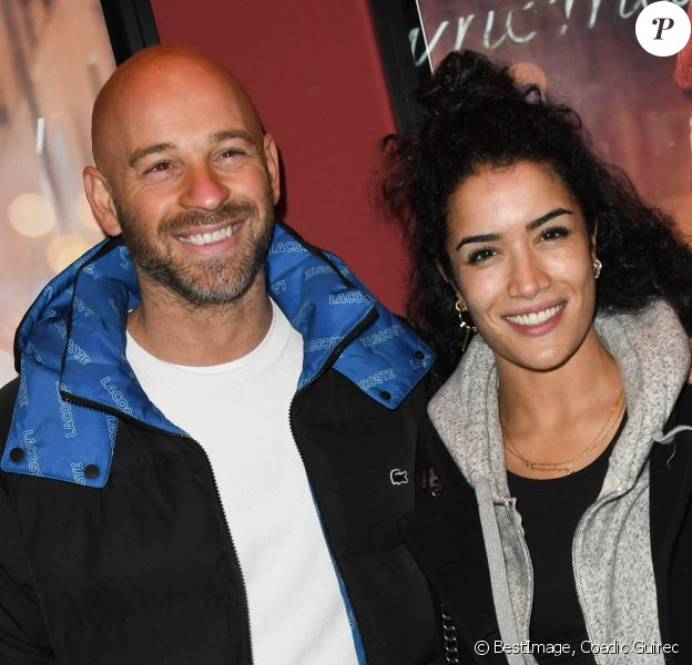 """Franck Gastambide et sa compagne Sabrina Ouazani - Avant-première du film """"Docteur"""" au cinéma Publicis à Paris le 21 novembre 2019. © Coadic Guirec/Bestimage"""