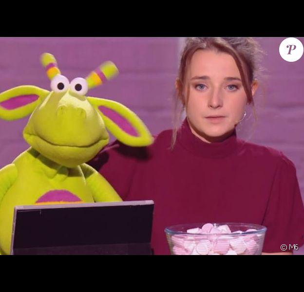 """Capucine lors de la première demi-finale d'""""Incroyable talent 2019"""", le 26 novembre, sur M6"""