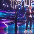 """Zack et Stan lors de la première demi-finale d'""""Incroyable talent 2019"""", le 26 novembre 2019, sur M6"""