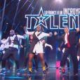 """The Rookies lors de la première demi-finale d'""""Incroyable talent 2019"""", le 26 novembre, sur M6"""