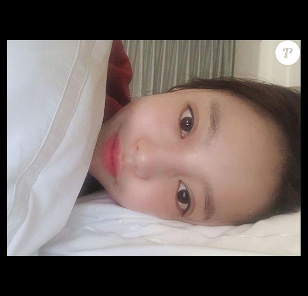 Hara (Goo Ha-Ra), star de la K-Pop et ex-membre du girlsband Kara, a été retrouvée morte le 24 novembre 2019 dans son appartement à Séoul. Photo : dernière image publiée sur son compte Instagram, quelques heures avant sa mort.Goo