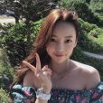 Hara (Goo Ha-Ra), star de la K-Pop et ex-membre du girlsband Kara, a été retrouvée morte le 24 novembre 2019 dans son appartement à Séoul. Photo issue de son compte Instagram.