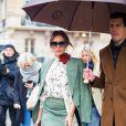 Victoria Beckham arrive à Gare du Nord pour sa master class au Vogue Festival, à Paris le 15 novembre 2019.