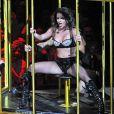 Britney Spears sur scène lors de son Circus Tour