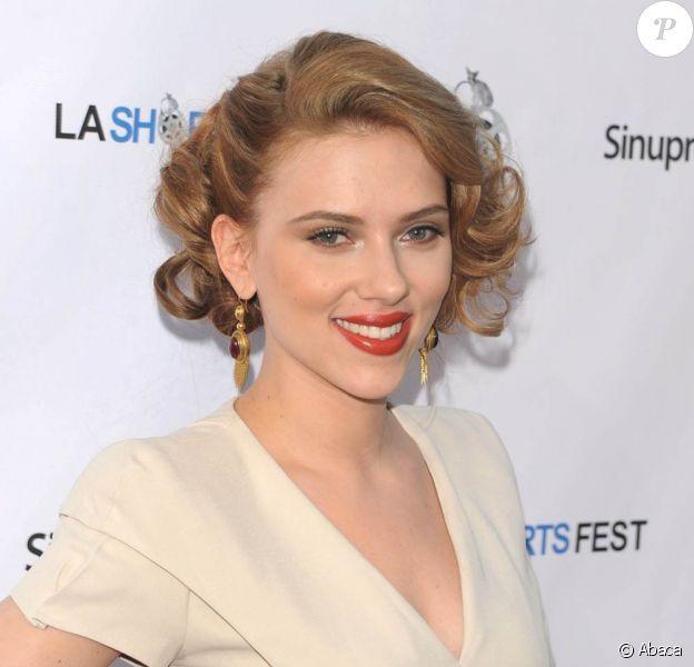 Scarlett Johansson, à l'occasion de la soirée d'ouverture du L.A. Shorts Festival, qui s'est tenue au Laemmle's Sunset 5 Theatre de West Hollywood, à Los Angeles, le 23 juillet 2009 !
