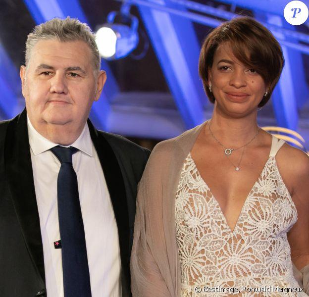 Pierre Menes et sa femme Mélissa Acosta au photocall de la cérémonie d'ouverture de la 18ème édition du Festival International du Film de Marrakech (FIFM), le 29 novembre 2019. © Romuald Meigneux/Bestimage