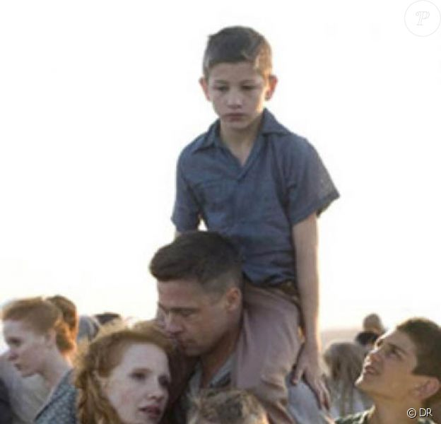 Brad Pitt et Jessica Chastain dans Tree of Life, de Terrence Malick !