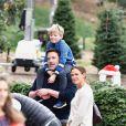 Ben Affleck et son ex Jennifer Garner sont allés assister à la messe dominicale avec leurs enfants Violet, Seraphina et Samuel à Los Angeles. Le 1er décembre 2019.