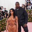 """Kanye West et Kim Kardashian - Arrivées des people à la 71ème édition du MET Gala (Met Ball, Costume Institute Benefit) sur le thème """"Camp: Notes on Fashion"""" au Metropolitan Museum of Art à New York, le 6 mai 2019."""