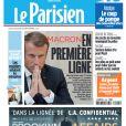 Une du Parisien, datée du 3 décembre 2019.