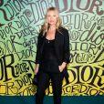 Kate Moss assiste au défilé Dior, collection homme automne-hiver 2020, au Musée Rubell. Miami, le 3 décembre 2019.