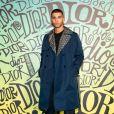 Younes Bendjima assiste au défilé Dior, collection homme automne-hiver 2020, au Musée Rubell. Miami, le 3 décembre 2019.